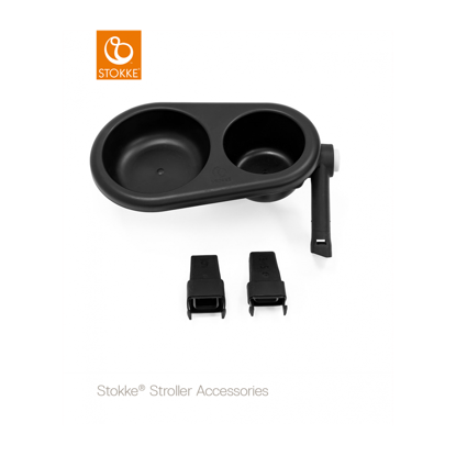 Εικόνα της Stokke stroller snack tray black