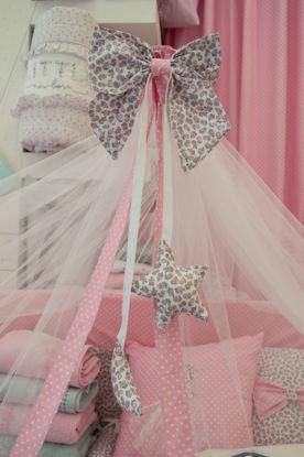 Εικόνα της Κουνουπιέρα με φιόγκο Handmade Floral