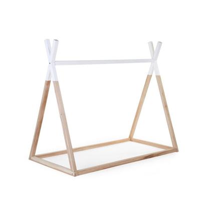 Εικόνα της Πλαίσιο Kρεβατιού Childhome TIPI 70*140 cm Natural-White