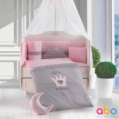 Εικόνα της Προίκα Κρεβατιού Abo Little Princess 70x140 9 τμχ. Pink
