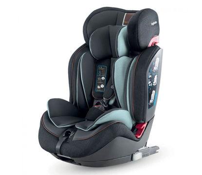 Εικόνα της Inglesina Gemino I-Fix 1 2 3 παιδικό κάθισμα αυτοκινήτου Black