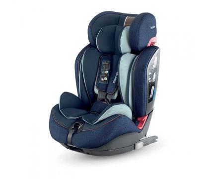 Εικόνα της Inglesina Gemino I-Fix 1 2 3 παιδικό κάθισμα αυτοκινήτου Navy