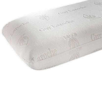 Εικόνα της Μαξιλάρι Ύπνου Memory Foam Visco Elastic (Aloe Vera) Normal White Guy Laroche