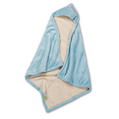 Εικόνα της Βρεφική Κουβέρτα Βελουτέ Αγκαλιάς Με Κουκούλα Nima Mickey Microflannel - Sherpa Αγκαλιάς 100x100