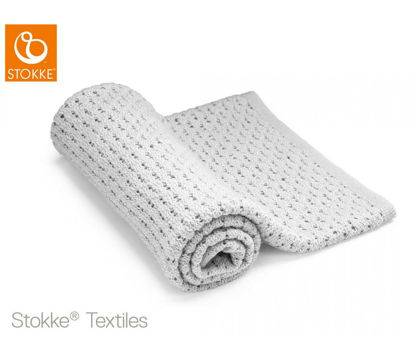 Εικόνα της Stokke® Blanket Merino Wool Light Grey