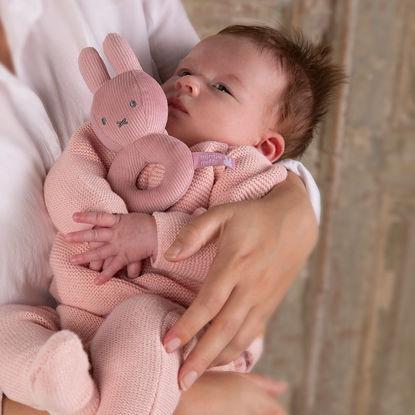 Εικόνα της Υφασμάτινη Κουδουνίστρα Miffy Pink