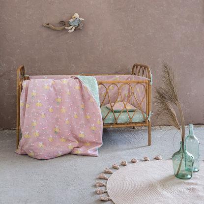 Εικόνα της Σεντόνια Κούνιας (Σετ) 120x170 Nima Bumblebee