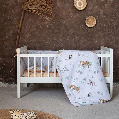Εικόνα της Σεντόνια Κούνιας (Σετ) 120x170 Nima Sleepy Panther
